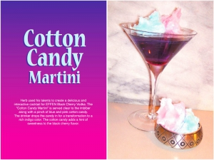 Cotton Candy Martini